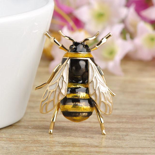 Cute Bee Shape Brooch