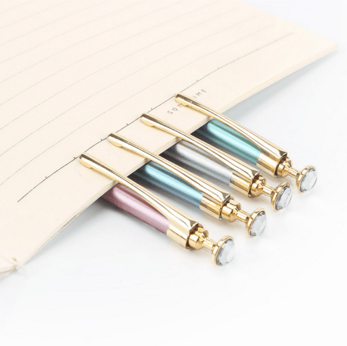Rhinestone Decorated Mechanical Pencil