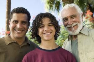grandfather father son grandson