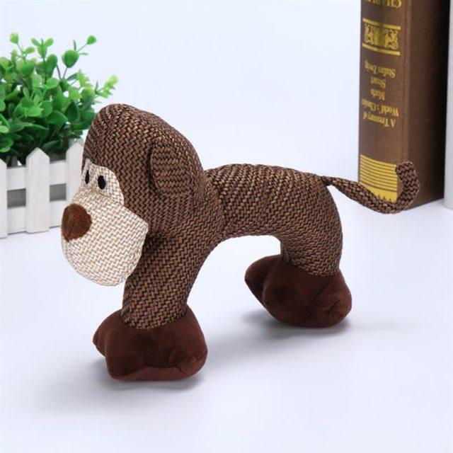 Dog Chew Toys for Small Large Dogs Bite Resistant Dog Squeaky Duck Toys Interactive Squeak Puppy Dog Toy Pets Supplies