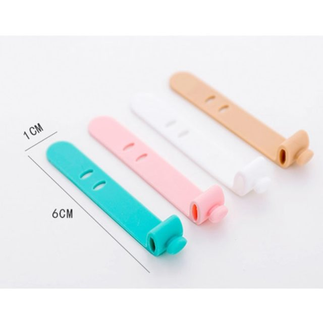 Creative Travel Accessories Silica Gel Cable Winder Earphone Protector USB Phone Holder Accessory Packe Organizers Dropshipping
