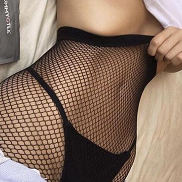 Lady Women Sexy Pantyhose Mesh Fishnet Nylon Tights Long Stocking Jacquard Step Foot Seam Pantyhose Stockings lingerie Hosiery